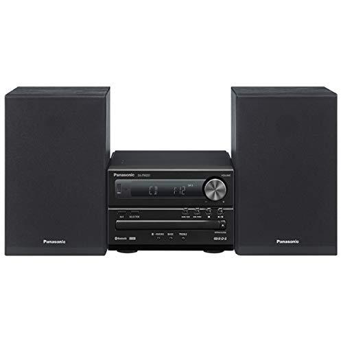 Panasonic SC-PM251EC-K - Sistema Micro CD (Bluetooth, USB, CD, FM, Graves...