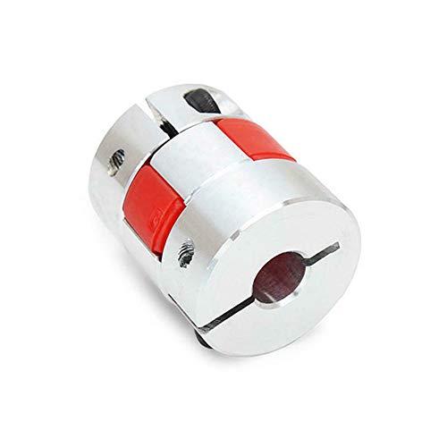 Flexible Spider Shaft Coupling CNC Stepper Motor Coupler Connector & Lead Screw Coupler for 3D Printer Creality Ender 3 CR-10 CR10S CR20 Pro