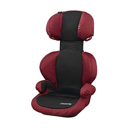 Maxi-Cosi Rodi SPS mitwachsender Kindersitz, Gruppe 2/3 Autositz (15-36 kg), nutzbar ab 3,5 bis 12 Jahre, Pepper Black (rot/schwarz)
