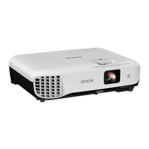 Projecteur à focale courte sans fil HD à prise de vue directe à courte distance de projection projecteur (Color : WHITE, Size : 30.2 * 8.2 * 23.7CM)