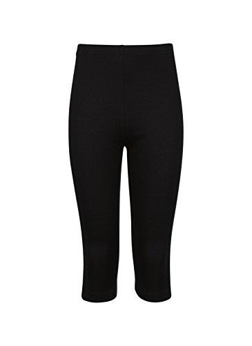 Trigema Mädchen Capri-Leggings aus Baumwolle/Elastan
