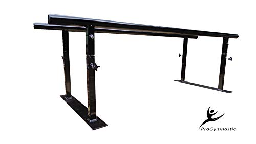 Progymnastic Physical Therapy Parallel Bars – 24″ Fixed Width Model – 5 ft, 7 ft, 10 ft (5)