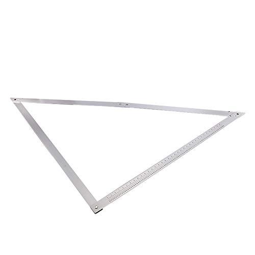 Constructores de aluminio - Regla de ángulo cuadrado para constructores de aluminio plegable grande de 48'para carpintería de patios Nuevo
