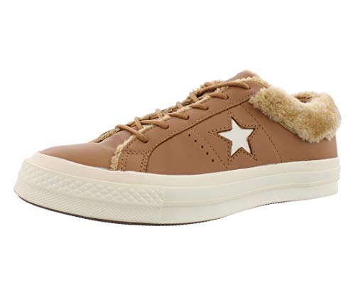Converse Womens ONE Star Leather OX Camel Sneaker Low 37