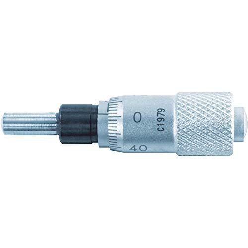 新潟精機 SK マイクロメーターヘッド ストレートステム 0-6.5mm 1011-050