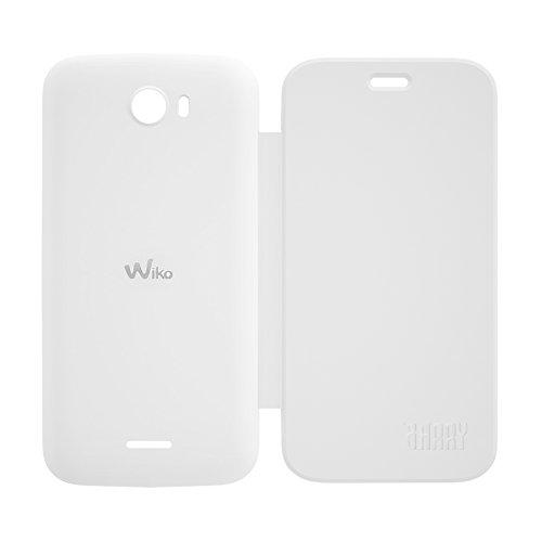Wiko 92041 Flip Cover für Barry weiß