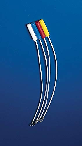 Bel-Art H37774-0000 Spinbar Flexibele Teflon Magnetische Roerstaaf Retriever; 13 in. Lengte: 12,5 x 35 mm, wit