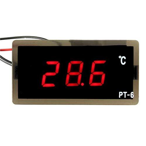 DIBAO Termómetro digital LED automático de 12 V -40 ~ 110 °C