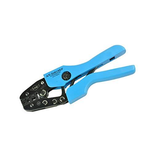 QPLKL Schienencrimpwerkzeug 2 * 6-16mm² Handcrimpzangen for Crimpzangen mit Aderendhülsen