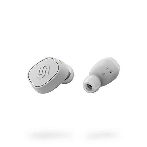 Auriculares estéreo con Bluetooth Urbanista Tokyo Totalmente inalámbricos [VERDADERA Libertad SIN Cables], Resistencia al Agua de Clase IPX4, Control de Botones con micrófono - Moonwalk