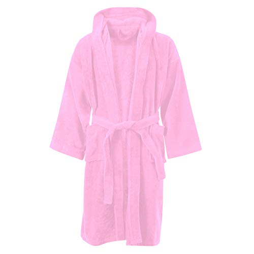 Iris /& Lilly Long Plush Dressing Gown Donna Marchio