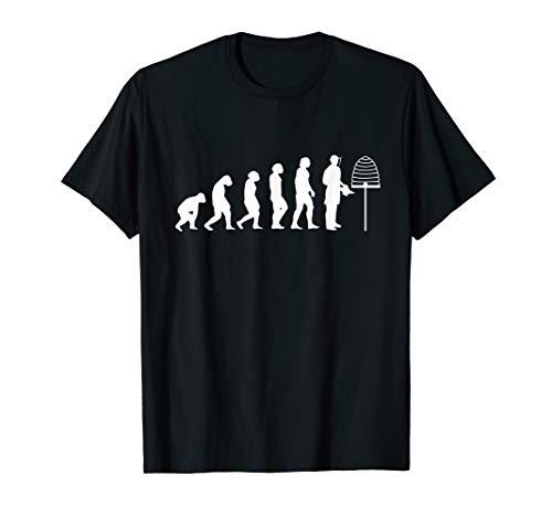 Imker Evolution Imkerei Bienen Geschenk T-Shirt