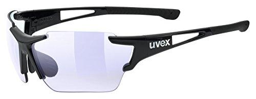 uvex Unisex– Erwachsene, sportstyle 803 race vm Sportbrille, black, one size