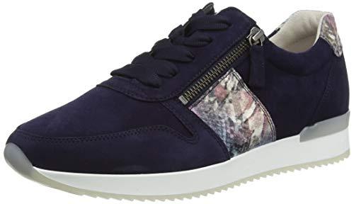 Gabor Damen Jollys 43.42 Sneaker, Blau (Bluette Kombi 16), 39 EU