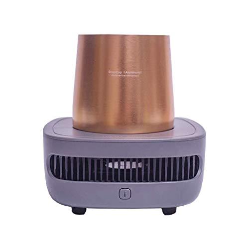 LG Snow Vino Freeze Copas de enfriamiento |Cupcooler Bebidas Enfriador de Bebidas Extrema rápido enfriamiento Refrigerador USB portátil (Gris) (Color : Gray)
