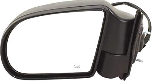 99-04 CHEVY CHEVROLET BLAZER S10 s-10 MIRROR LH (DRIVER SIDE) SUV, Power, Heated, W/O Dimmer, Black, Textured (1999 99 2000 00 2001 01 2002 02 2003 03 2004 04) GM49EL 15757186