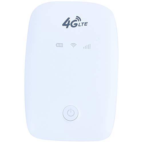 SODIAL 925-3 Punto De Acceso Portátil 4G LTE Router Móvil Inalámbrico Módem 150Mbps 2.4G Caja WiFi Caja De Terminal De Datos WiFi Router Inalámbrico Soporte Tarjeta Sim Y con Batería