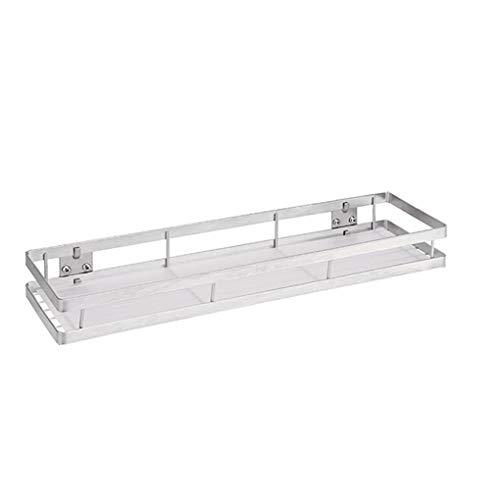 Weilifang Edelstahl Lagerung Regal Hängen Würzen Organisator-Speicher-Regal Küche Badezimmer Rackwagen, 30CM