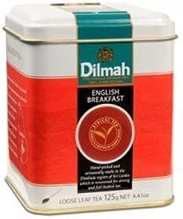 Dilmah English Breakfast Loose Tea in Caddy (4.4 Ounces)