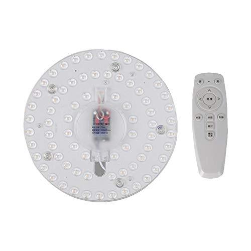 Makluce Verstelbare plafondlamp Nieuw 220V Creative multifunctionele LED ronde module met afstandsbediening home decoratie