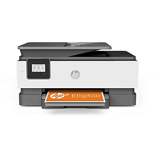 HP OfficeJet 8014e All in One colour printer with 9 months of Instant Ink included with HP+