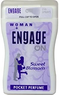 Engage Woman Sweet Blossom Pocket Perfume,18 Ml (Pack Of 3)