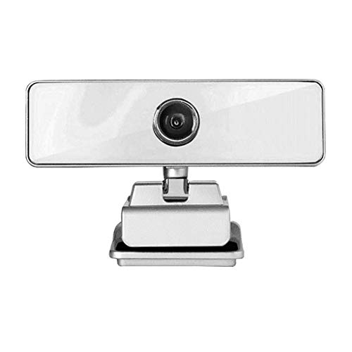 1080P HD PC USB Test webcam tijdens video-opnames, Dingtalk, play installatie, Live Streaming Widescreen Webcam met ingebouwde microfoon, Antislip Bottom, Sliver