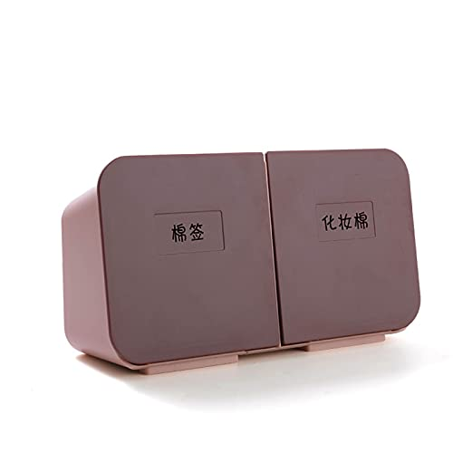 Shubiao Caja de almacenamiento sin perforaciones con 2 fajas resistente al agua, duradero, antipolvo, de larga duración, Lightweigt para cosméticos