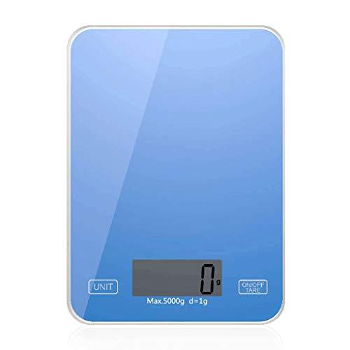 ZJHDX Digitale personenweegschaal, personenweegschaal met groot verlicht display, step-on-technologie, zeer nauwkeurige metingen