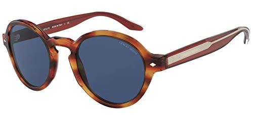 Armani Gafas de sol Giorgio AR8130 580980 Gafas de sol Hombre color Marrón azul tamaño de lente 49 mm
