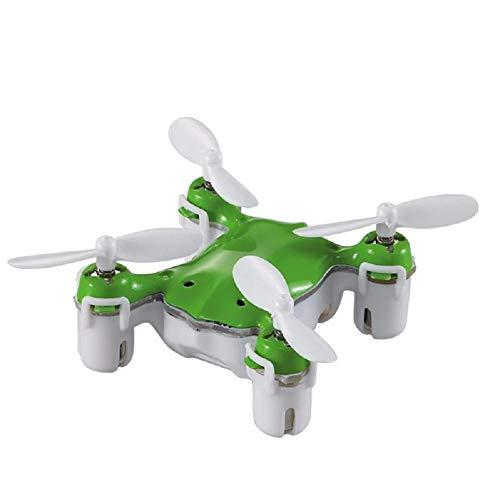 edahbjnest5mk Mini-Drohne Pocket Drones Kleine Dron RC Quadcopter Nano Drone Spielzeug Hubschrauber Flugzeug Stunt Dron, grün