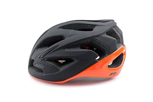 KTM Helm Factory Team schwarz matt/orange glänzend Gr. 53-58