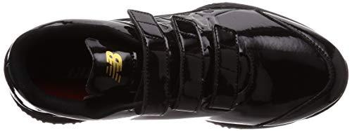 [ニューバランス]ベースボールシューズTJ80ターフベルクロ(現行モデル)ブラック(AK1)24.5cm2E