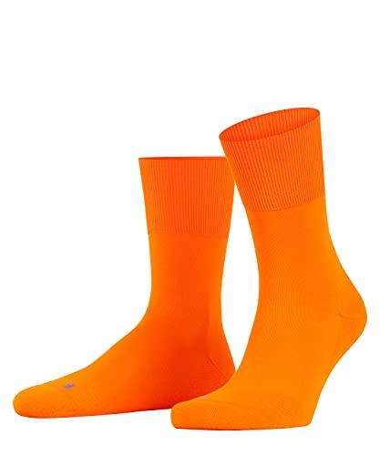 FALKE Unisex Run U SO Socken, Blickdicht, Orange (Bright Orange 8930), 42-43