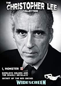Christopher Lee Triple Bill - I Monster 2D / 3D Version / Secret of the Red Orchid 1962 / Sherlock Holmes and the Deadly Necklace 1962 DVD Region 0