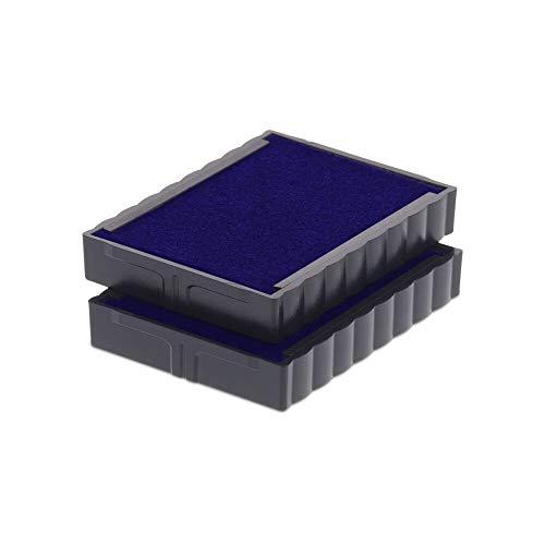 Recambio Cartucho de Tinta Trodat 6/4750 para Sellos de Entintaje Automático Printy 4941 (4760), 4755, 4750 y 4750/L – Tinta Azul, Blíster 2u. ✅