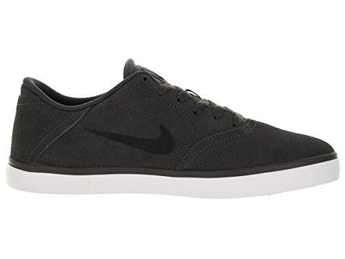 Nike Herren SB Check Skaterschuhe, Grau/Schwarz/Weiß (Dunkelgrau/Schwarz-Weiß), 47 1/2 EU