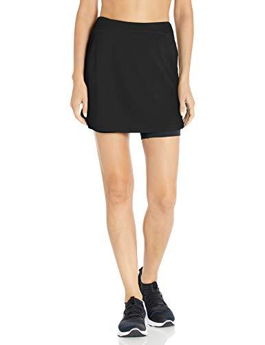 Skirt Sports Women's Happy Girl Skirt, Large, Black