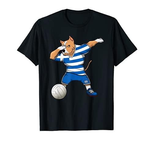 Dabbing Pit Bull Grecia Voleibol Fans Jersey Grecia Deporte Griego Camiseta