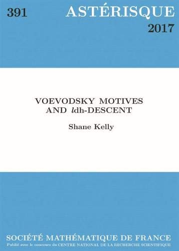 Voevodsky Motives and $l$dh-descent (Asterisque)の詳細を見る
