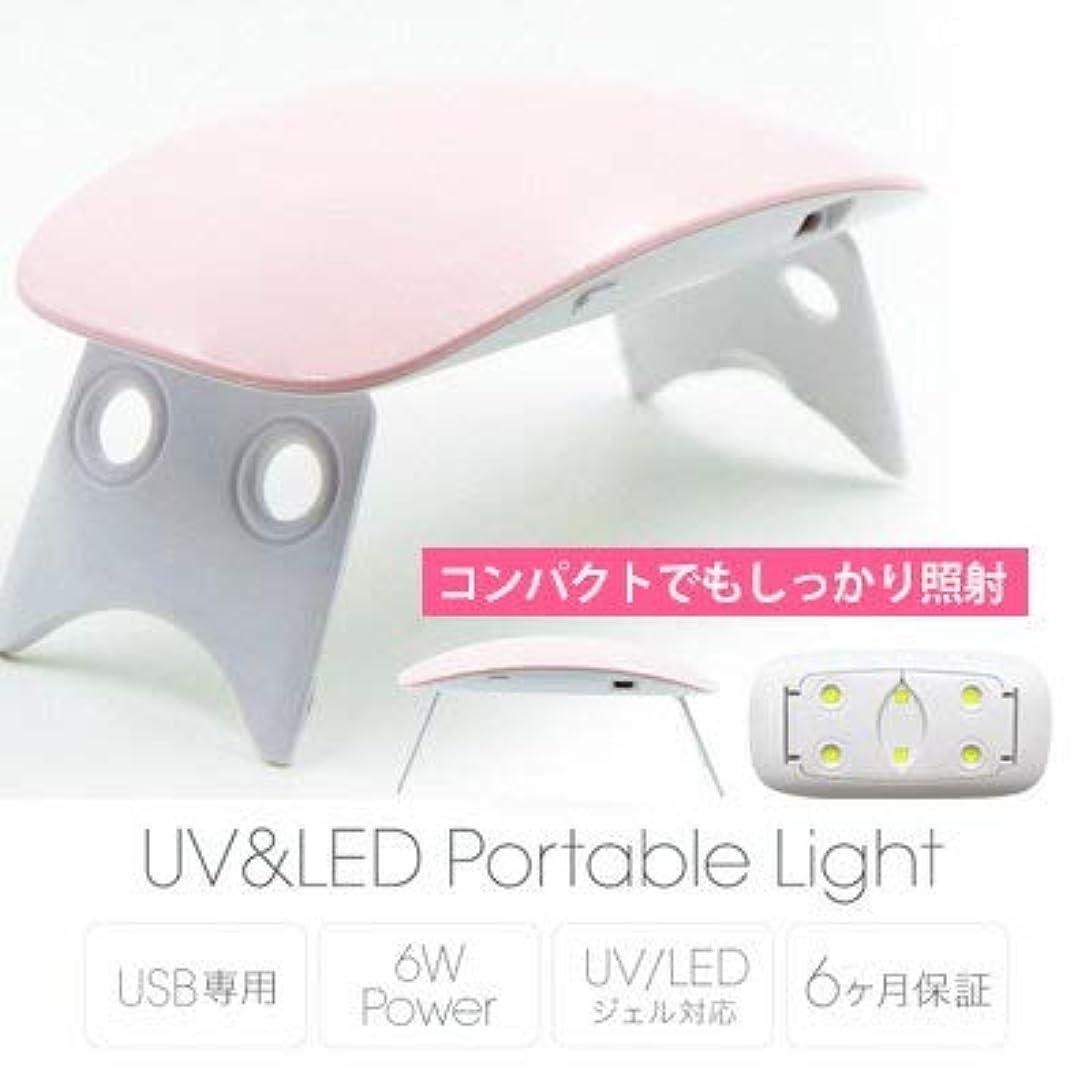 アラブメナジェリーオートメーションBonnail UV&LED ポータブルライト6W ピンク