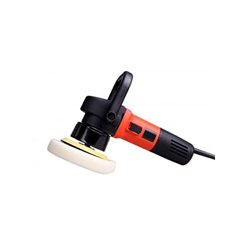 Das 6 Pro Power Plus 900W Dual Action Random Orbital Polisher With Backing Plate, D Handle, Spare Brushes, 6m Cable and Carry Case - 12 Months Warranty, Remove Swirls, Scratches and Recover Oxidised Paint, Apply Polish or Wax