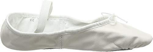 Bloch 209 Arise Lederschläppchen mit ganzer Sohle - Weiß - Größe EU 27 UK 9s - C Ausstattung