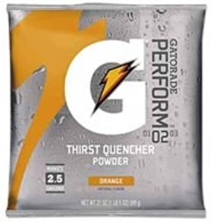 2-1/2Gal Orange Powder Mix 32-21Oz Pkg, Sold As 1 Case, 32 Each Per Case