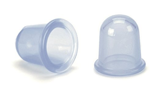 Demarkt 2 Pcs Ventouses Silicone Petites Tasses Minceur Anticellulite Aspiration Emboutissage Tasses Hypoallergénique Amincissante Prévenir Supprimer Cellulite