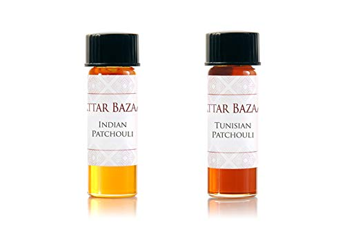 Passion for Patchouli-Attar Bazaar Indian Patchouli & Tunisian Patchouli (Best Smelling Deodorant For Female In India)