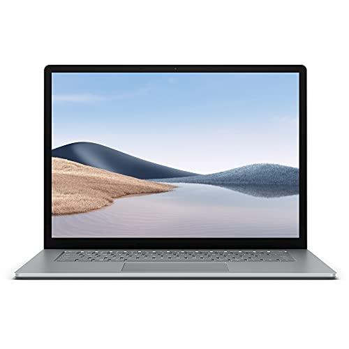 Microsoft Surface Laptop 4, 15 Zoll Laptop (Ryzen 7se, 8GB RAM, 256GB SSD, Win 10 Home) Platin