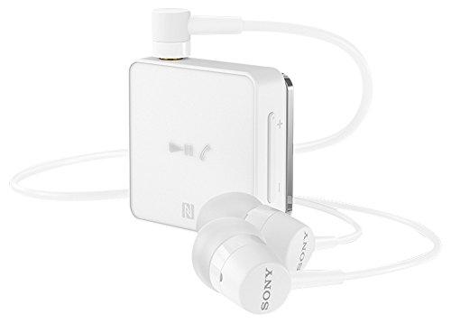 Sony SBH24 Dentro de oído Binaural Inalámbrico Blanco - Auriculares (Inalámbrico, Dentro de oído, Binaural, Intraaural, 15 g, Blanco)