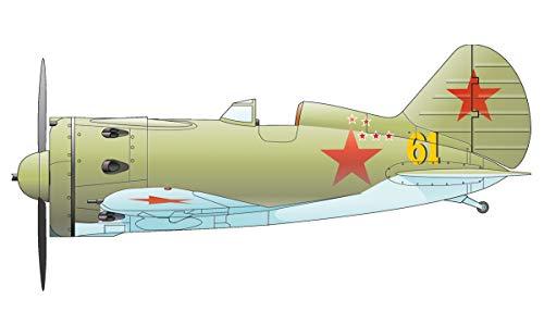 Unbekannt Eduard Plastic Kits 8465 - Modellflugzeug - I-16 Type 18 for Weekend