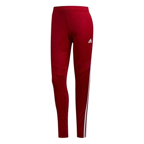 adidas Tiro 19 Trainingsband für Damen, Damen, Unterhose, Tiro 19 Training Pants, Power Rot/Weiß, Medium